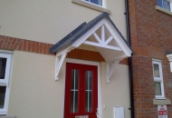 Typical GRP Canopy