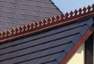 Reconstituted Slates & ridge detailing