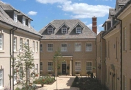 Stone development in Stamford - Portico, Heads, Cills, Walling & Window surrounds