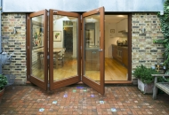 SF65, all timber folding, sliding door - Hackney, London